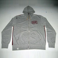 Light Grey Hooded Jacket