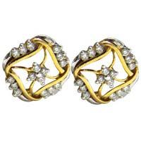 Diamond Earrings (1701-2-TP)
