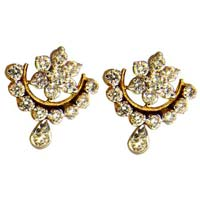 Diamond Earrings (1803-2-TP)