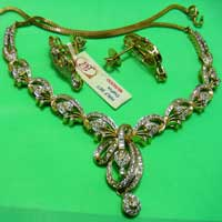 Diamond Necklace Set (1447-HS)