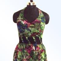 Georgette Printed Long Dresses