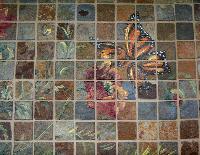 stone mosaic murals