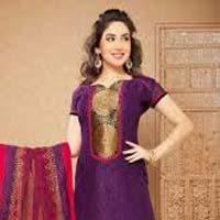 Cotton Silk Churidar Suits