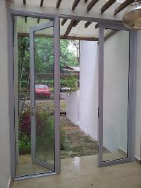 hospitals frameless glass doors