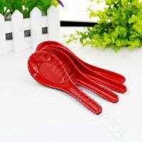 plastic soup spoons