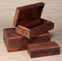 handcrafted decorative wooden box : wooden box manufacturers - Aboutintivar.Com
