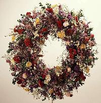 Dried Flowers Wreath