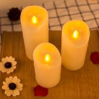 Color Flame Taper Candles