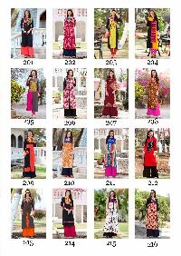 Bournvilla Kajal Style vol 2 cotton kurti