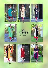 Panchhi Vol-1 rayon embroidery kurti