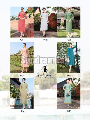 Naaz Latest Rayon Kurti Catalog