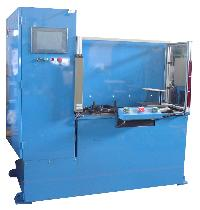 Catalyst Brick Dia.& Mat Wt. Measurement Machine