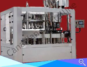 Glass Bottle Crowning Machine