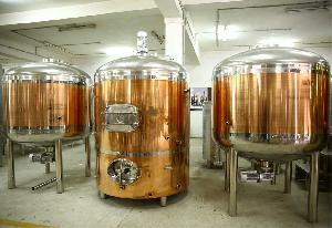 Yellow Copper Brew House System