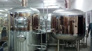 Copper Titanium Brew House System