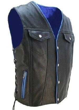 Blue Rope Vest Coat