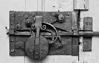 Iron Door Lock