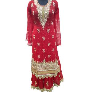 Embroidered Sharara Suits