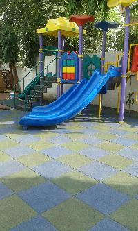 Safety Surfacing for Children Playground Area