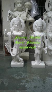 Radha Govind Marble Statue