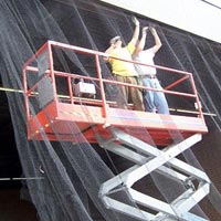 Industrial Bird Net Installation Services