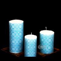 Designer Printed Candle