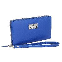 Blue Womens Genuine Leather Wallets