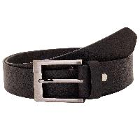 VALBONE GENUINE LEATHER BLACK MEN BELT