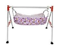 Folding Stainless Steel Baby Swing