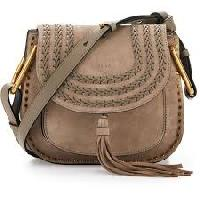 Leather Type  Side Bag With Frame