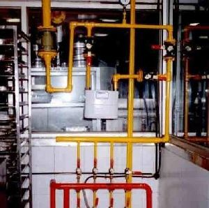 Hotel Central Gas Pipeline System