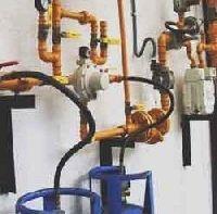 LPG Gas Pipeline System