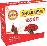 Rose Incense Dhoop Cones