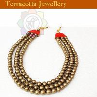 Terracotta Biba Style Beaded Jewellery