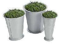 Designer Metal Pots