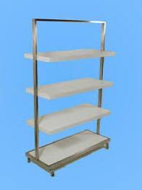 Stainless Steel Garment Display Racks