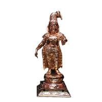Goddess Andal Bronze Idol