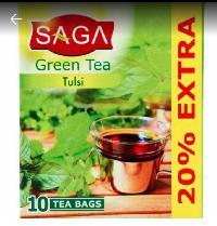 SAGA Green Tea Tulsi