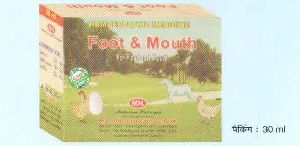 Foot & Mouth Mixture