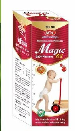 Magic Baby Massage Oil