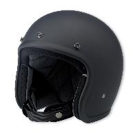 Black Color Open Face Helmets