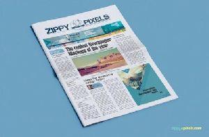 News Paper Add Design Services