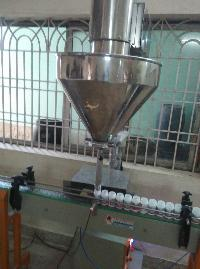 Automatic powder fill machine