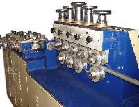 Bar & Pipe Straightening Machine