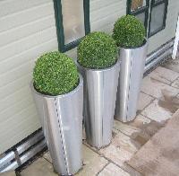 Stainless Steel Flower Pots