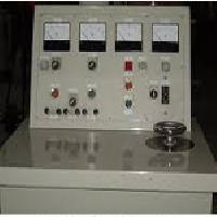 High Voltage Testing Panel