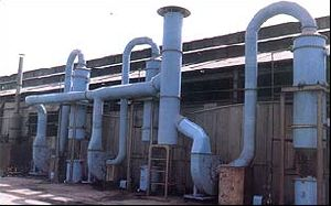 Pollution Control Gas Scrubbing System