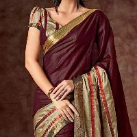 Fancy Printed Crepe Saree For Every Occasion