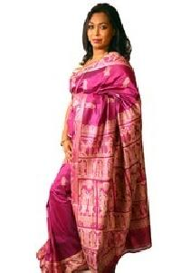 Unstitched Baluchari Silk Sarees