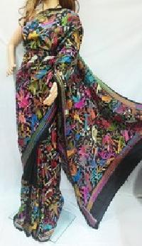 Unstitched Pure Tussar Silk Sarees